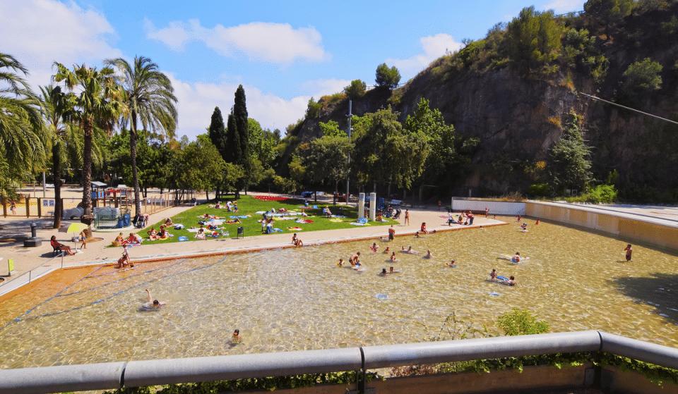 La famosa piscina de la Creueta del Coll vuelve a abrir sus puertas