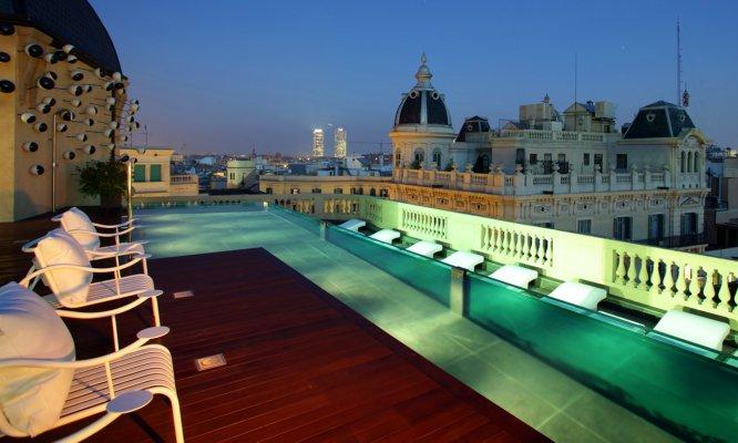 terrazas con piscina en Barcelona