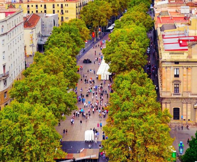 20 cosas típicas que hay en las Ramblas de Barcelona