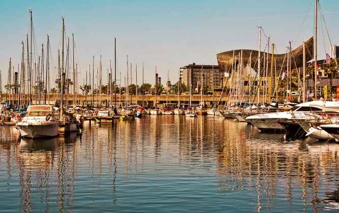 imagenes de barcelona puerto