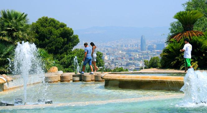 sitios romanticos en barcelona