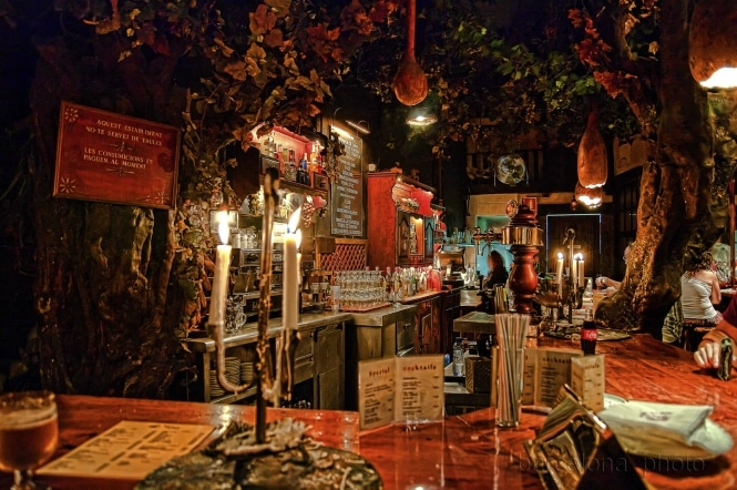 bares en barcelona bosc des fades