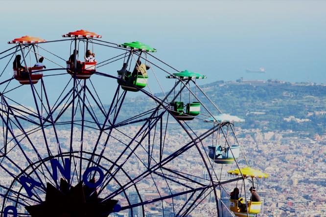 El parque de atracciones Tibidabo bate récord de visitantes