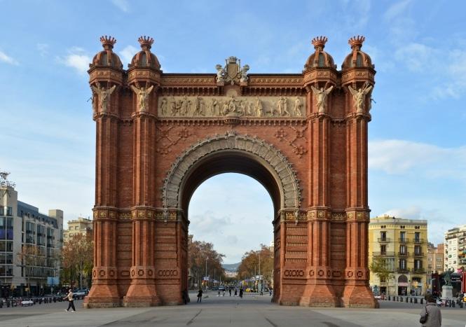 monumentos en barcelona arc