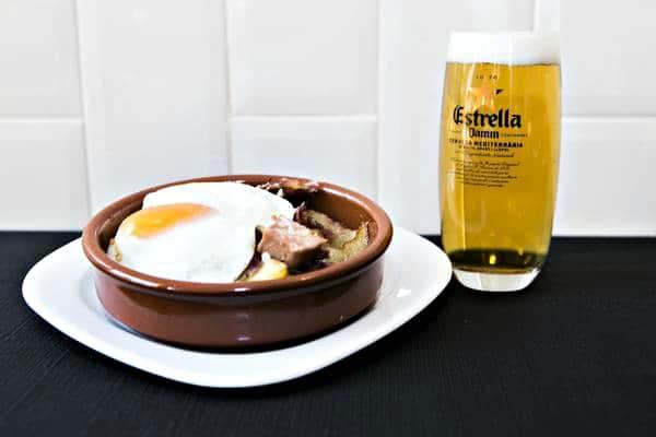 mejores huevos fritos de barcelona