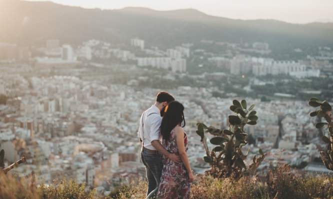 pareja de barcelona
