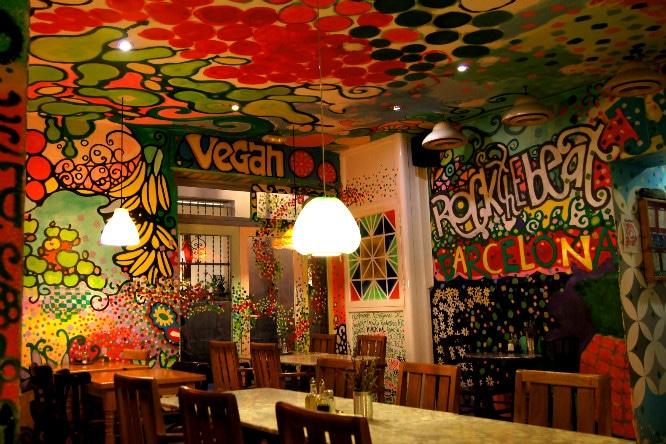 cat bar barcelona restaurantes veganos