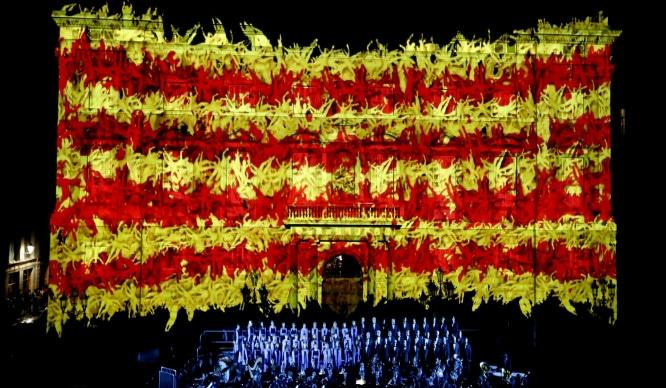 septiembre en barcelona diada