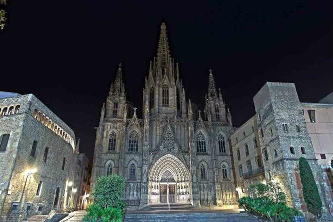 barrio gotico catedral