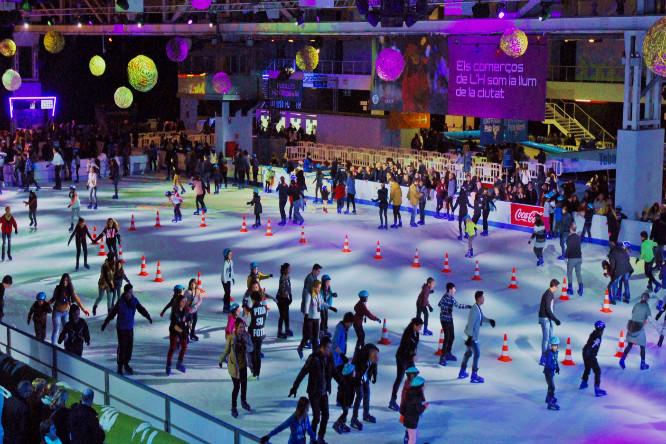 L'Hospitalet abrirá una gran pista de hielo durante el período navideño