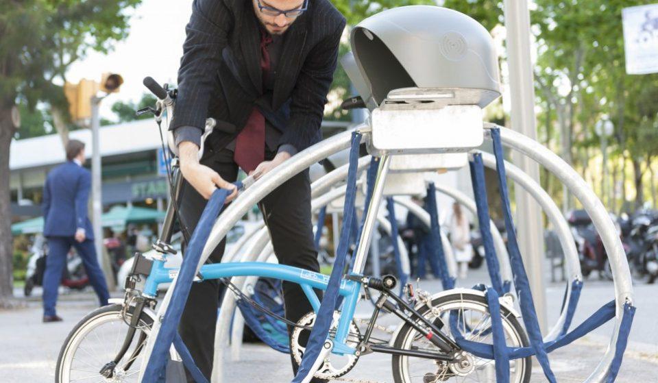 Nuevos parkings seguros de bicis en Barcelona