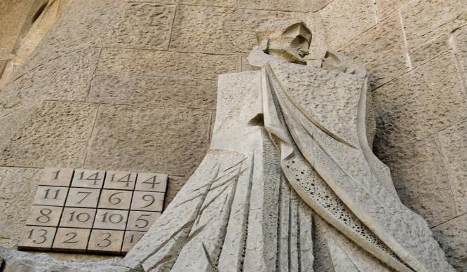 Secretos de Barcelona: El cuadrado mágico de la Sagrada Familia
