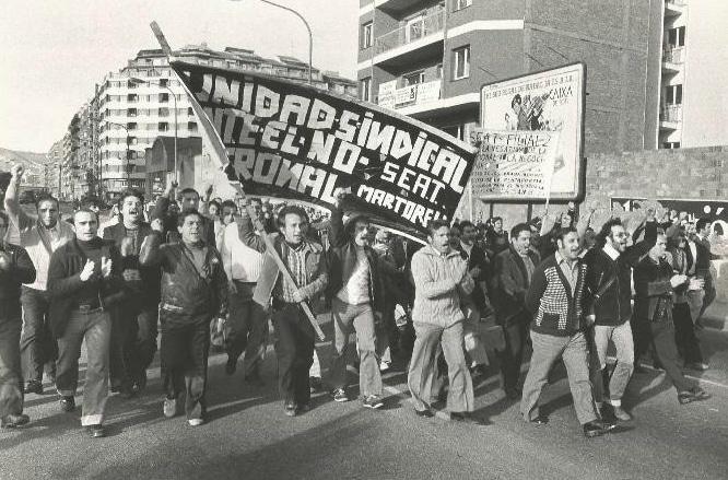 los trabajadores de la antigua Barcelona