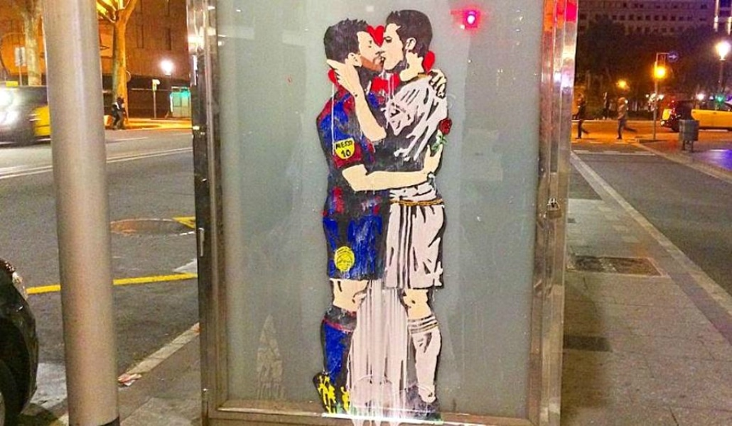 graffiti barcelona tvboy
