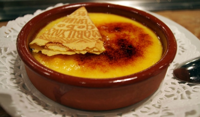 curiosidades de la crema catalana
