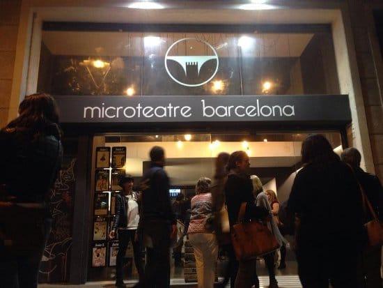 microteatro en Barcelona
