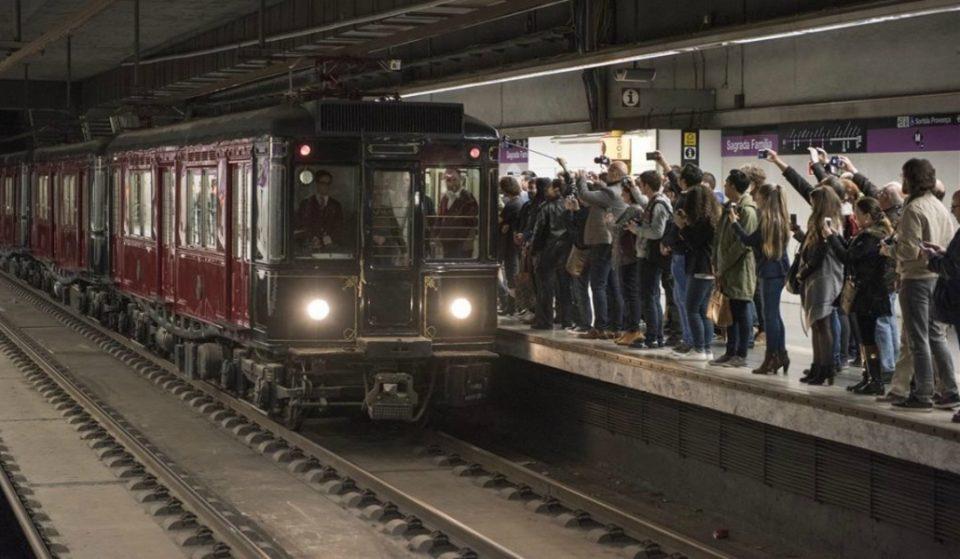 Barcelona revive un año más su viaje por el metro de 1924