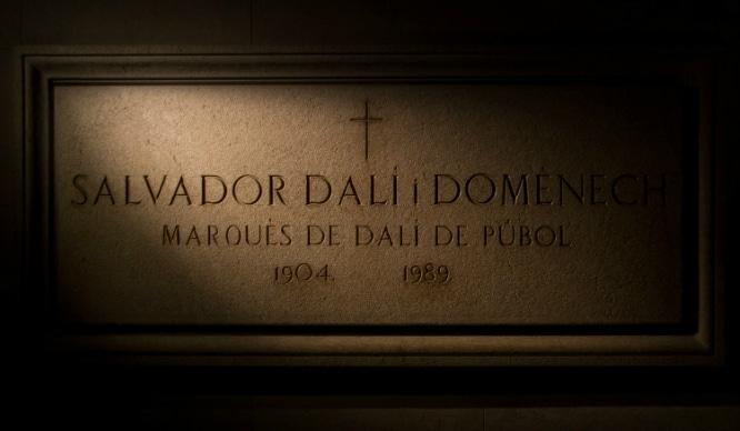 cadáver de Dalí