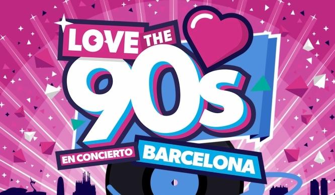 love the 90s en Barcelona