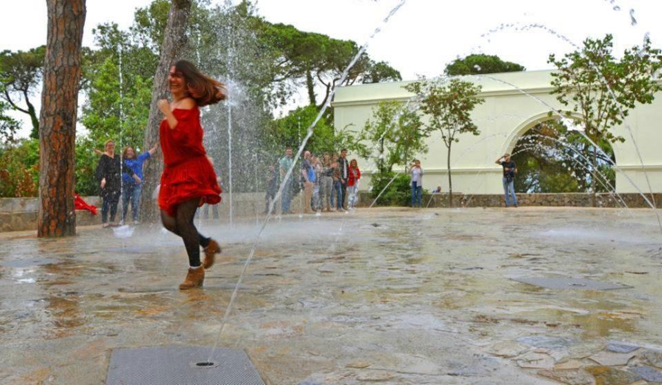 La nueva atracción de fuentes del Tibidabo ya está abierta