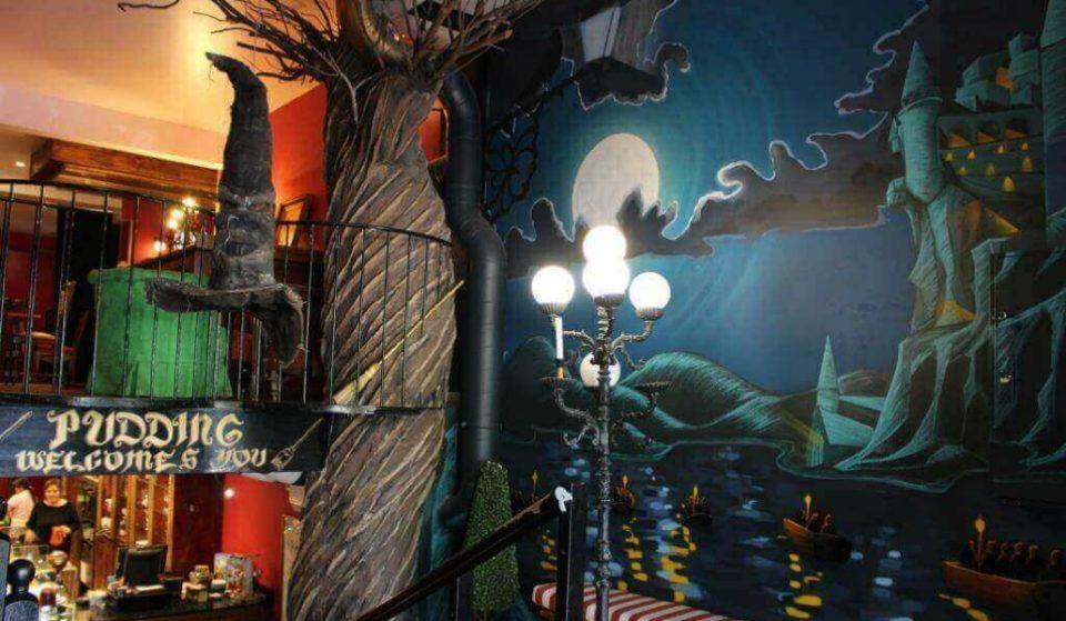 Pudding Coffe Shop, el lugar soñado por todo amante de la saga de Harry Potter
