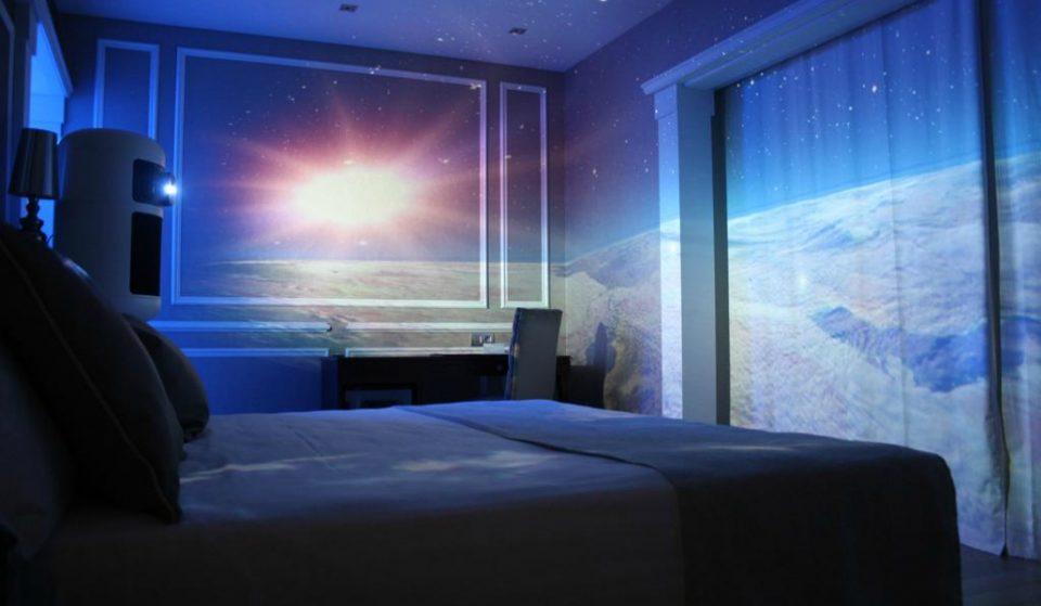 Un hotel de Barcelona es pionero en proyecciones en 4D