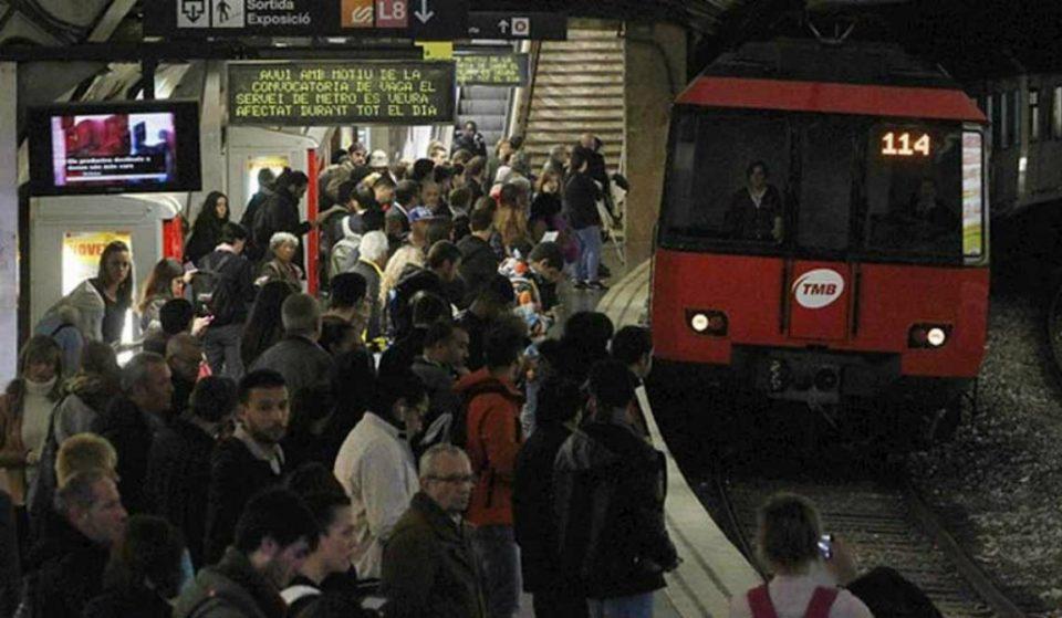 Se desconvoca la huelga de metro en Barcelona