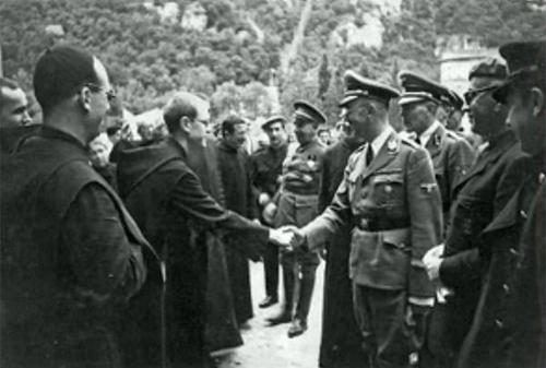 Nazis en Montserrat