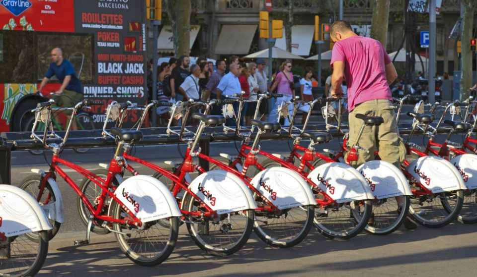 La huelga de Bicing comienza sus 15 días de parones