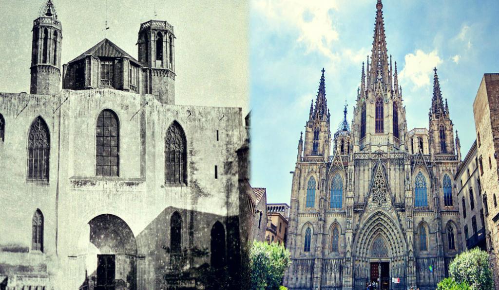 Antes y después: La Barcelona de nuestros abuelos y la nuestra