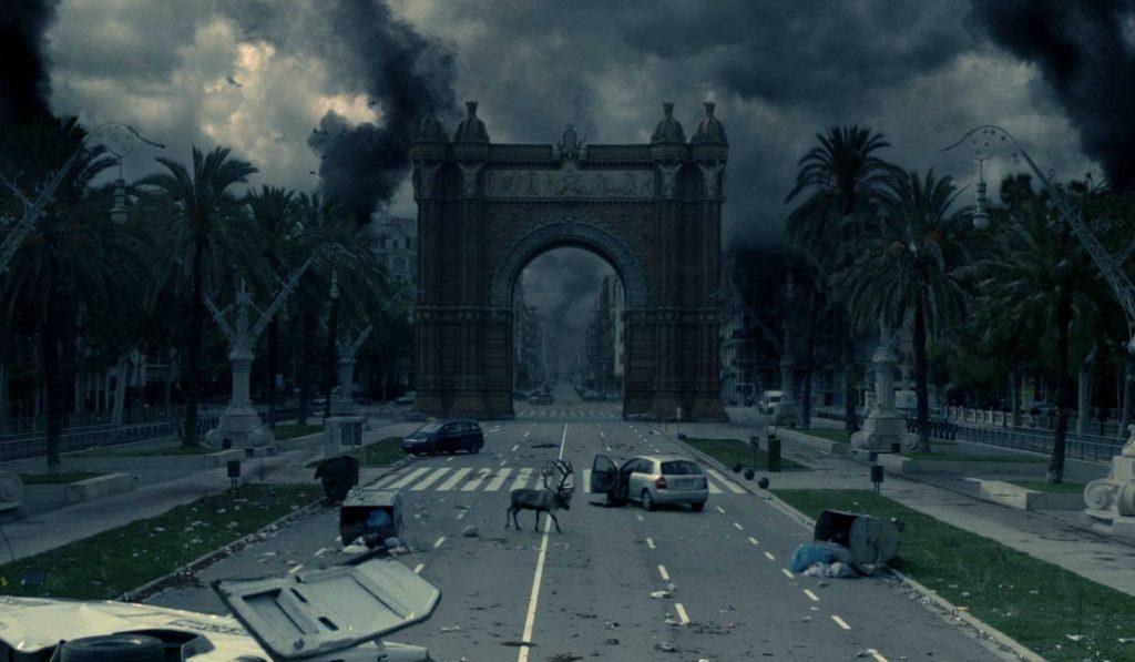 Así sería una Barcelona post-apocalíptica y sin personas