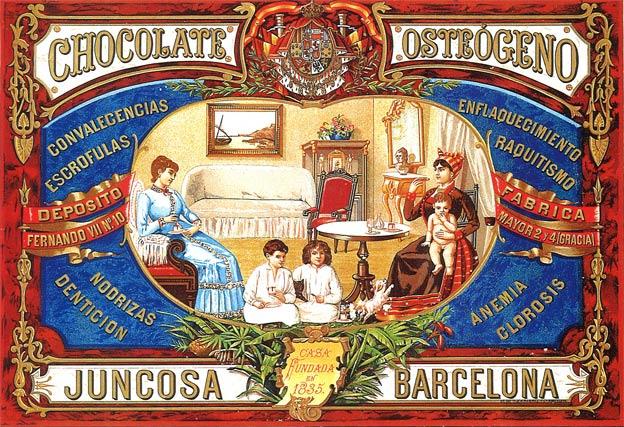 chocolate en Barcelona
