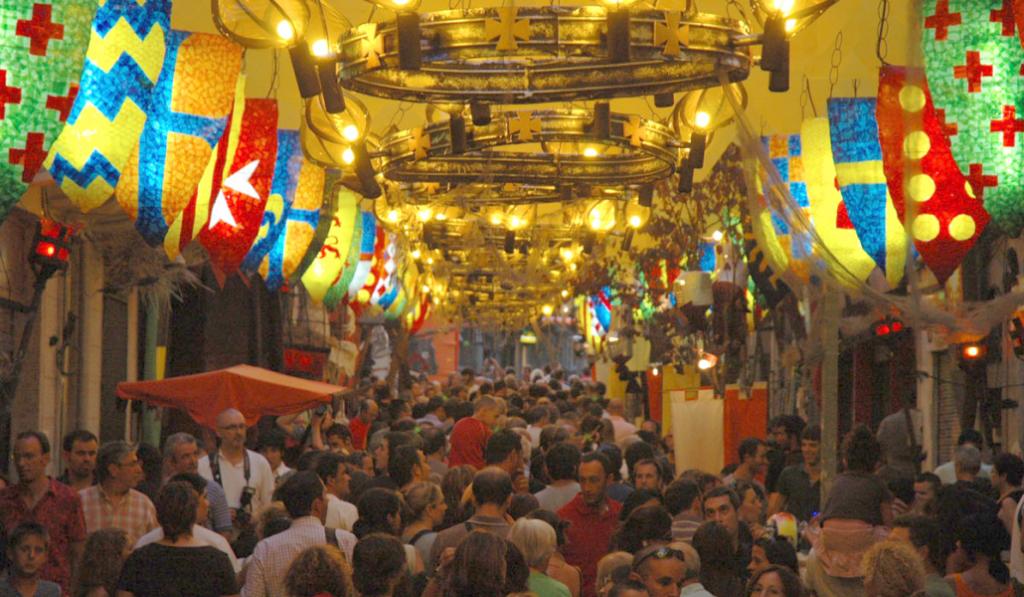 Las fiestas de Gràcia vienen con programación cargadita