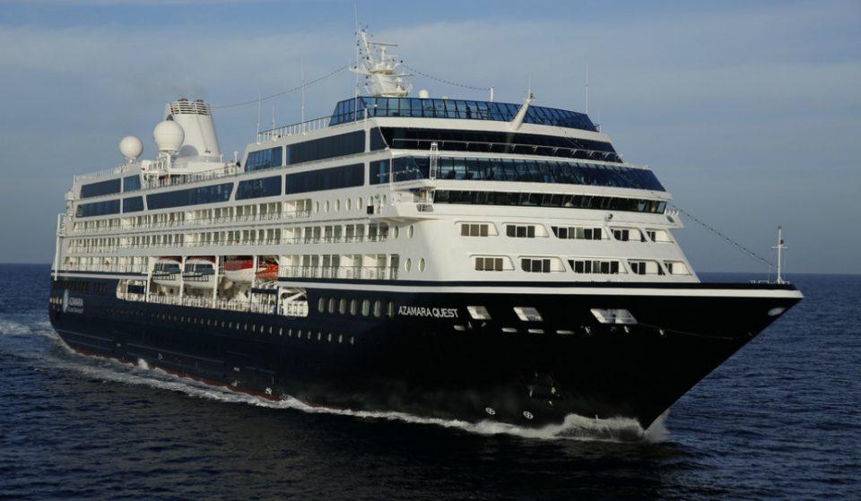 Llega a Barcelona un crucero con 343 parejas liberales