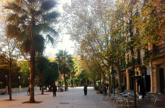 Enric-Granados-Barcelona-Street