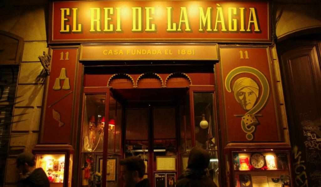 tiendas más curiosas de Barcelona