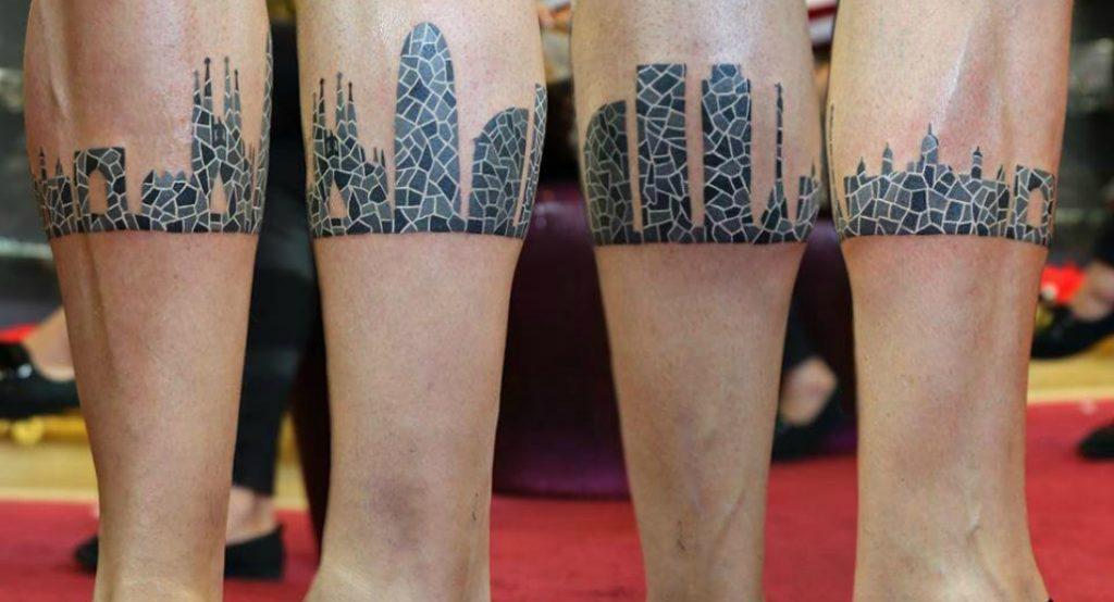 Barcelona en la piel: los tatuajes más bizarros