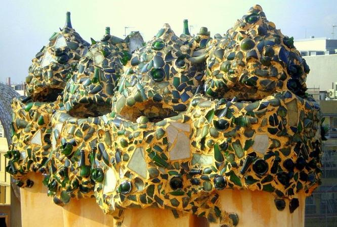 Trencadís de Gaudí