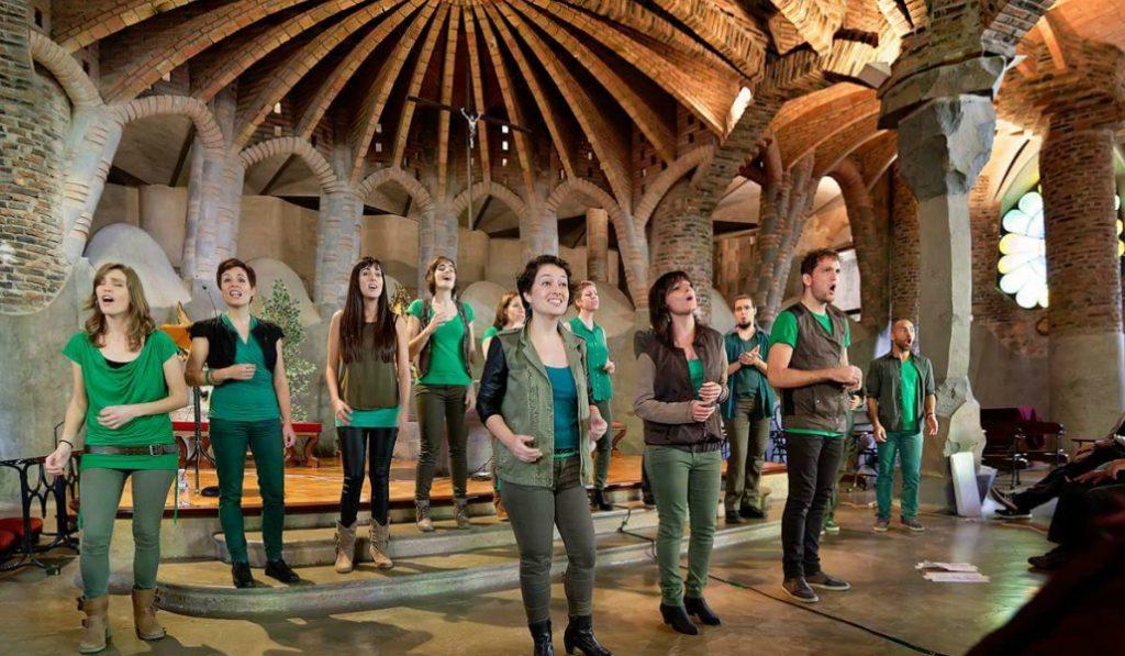 Una cita con el gospel y el modernismo en los conciertos de Oh Happy Gaudí!