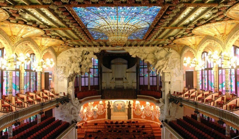 El Palau de la Música permitirá dormir en su interior en Halloween