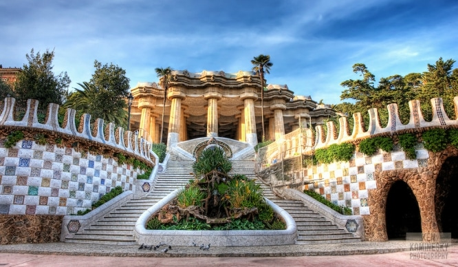 Escaleras de Barcelona