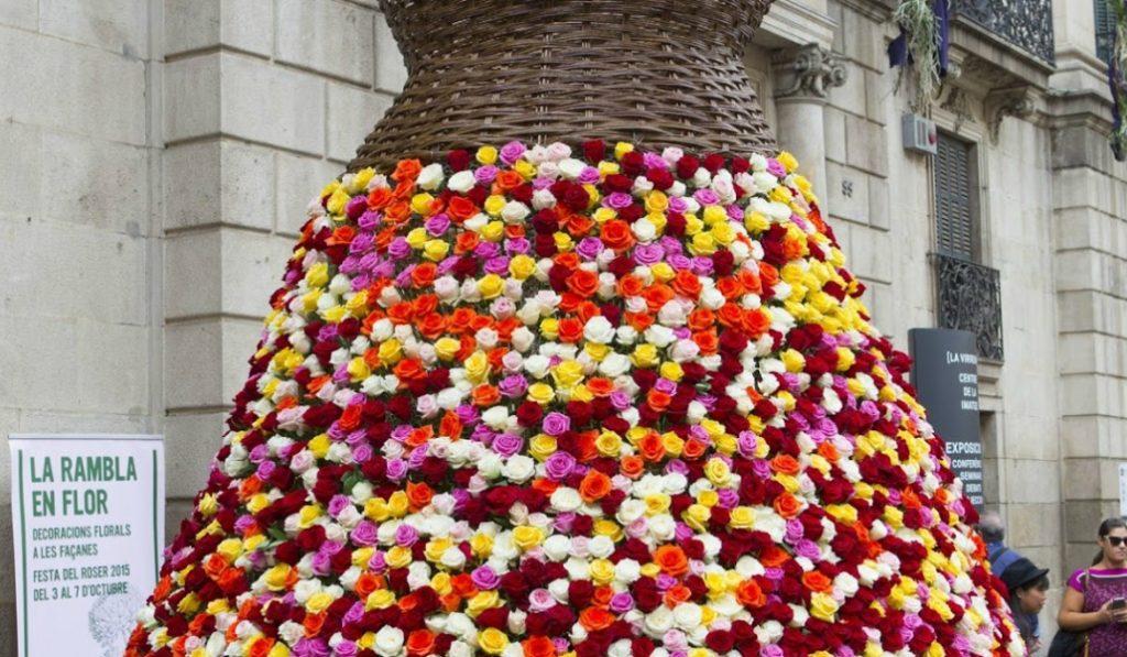 La Festa del Roser vuelve un año más para reivindicar nuestra Rambla