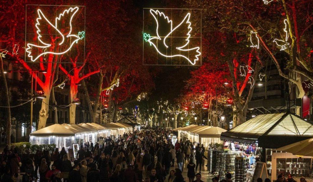Las primeras imágenes de la Navidad en Barcelona