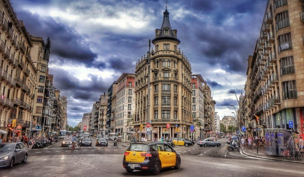 punto más caliente de Barcelona