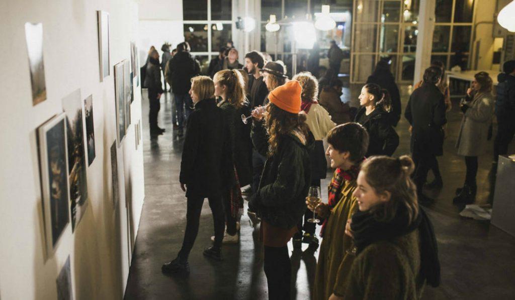 El arte y la creatividad se dan cita en el Poblenou Open Night