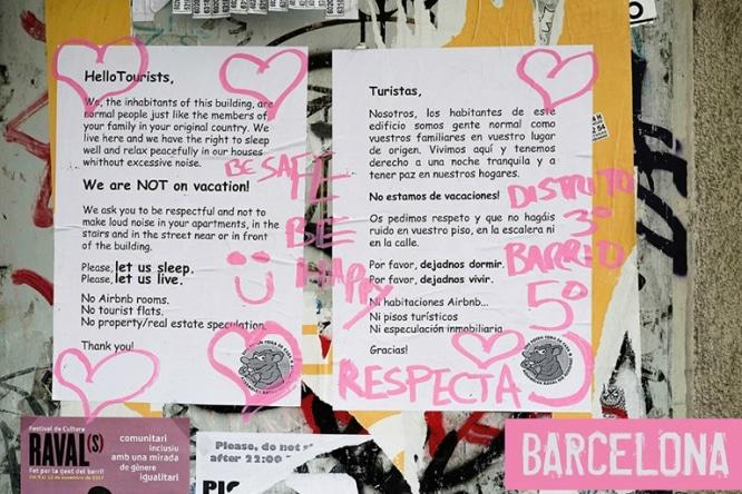 Grettings from Barcelona