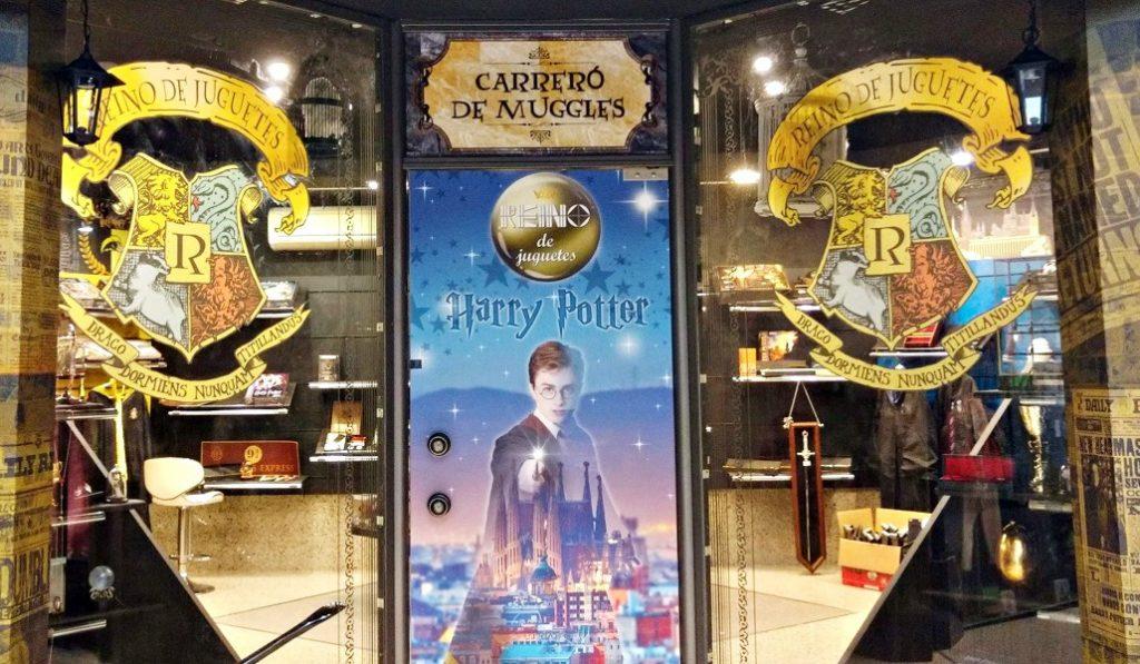 Bienvenido a la tienda dedicada al universo de Harry Potter en Barcelona