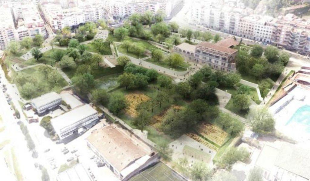 Así lucirá el nuevo parque de Barcelona