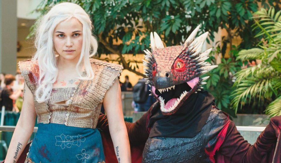 La primera quedada de cosplay de 'Juego de Tronos' en Barcelona