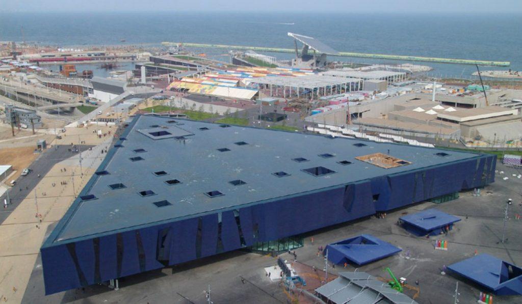 La mayor cubierta verde de Barcelona coronará el Museu Blau